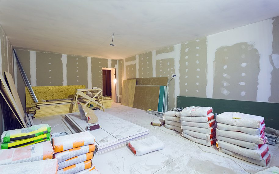 donnelly timmons residential constructors working on a home remodel with room additions