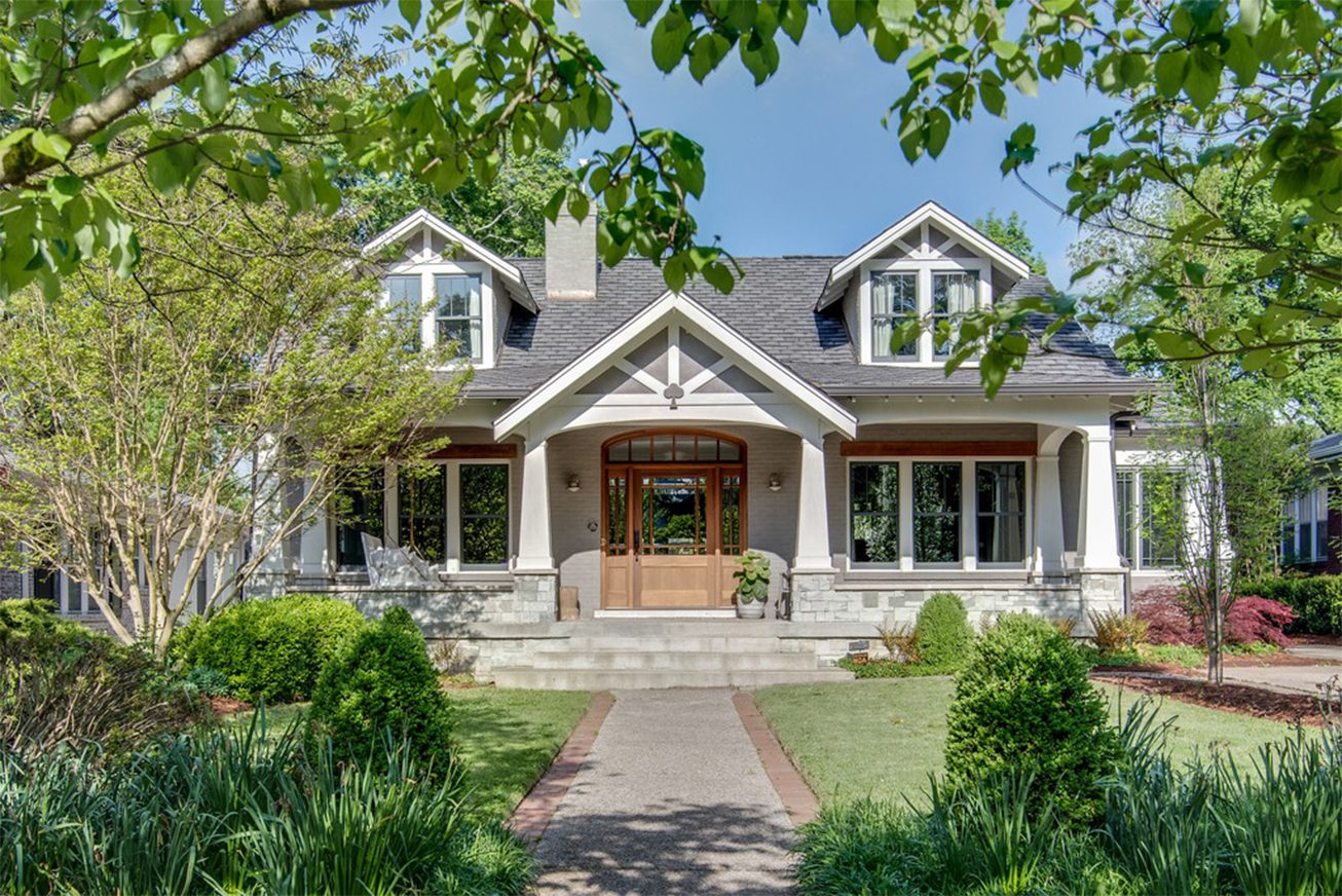 custom home built by residential contractors for donnelly timmons and associates in nashville tn