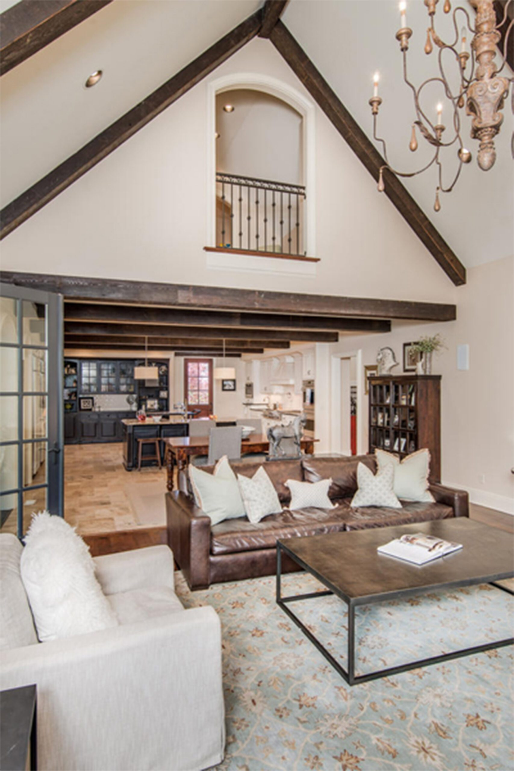 a brand new custom home built with a focus on home improvements