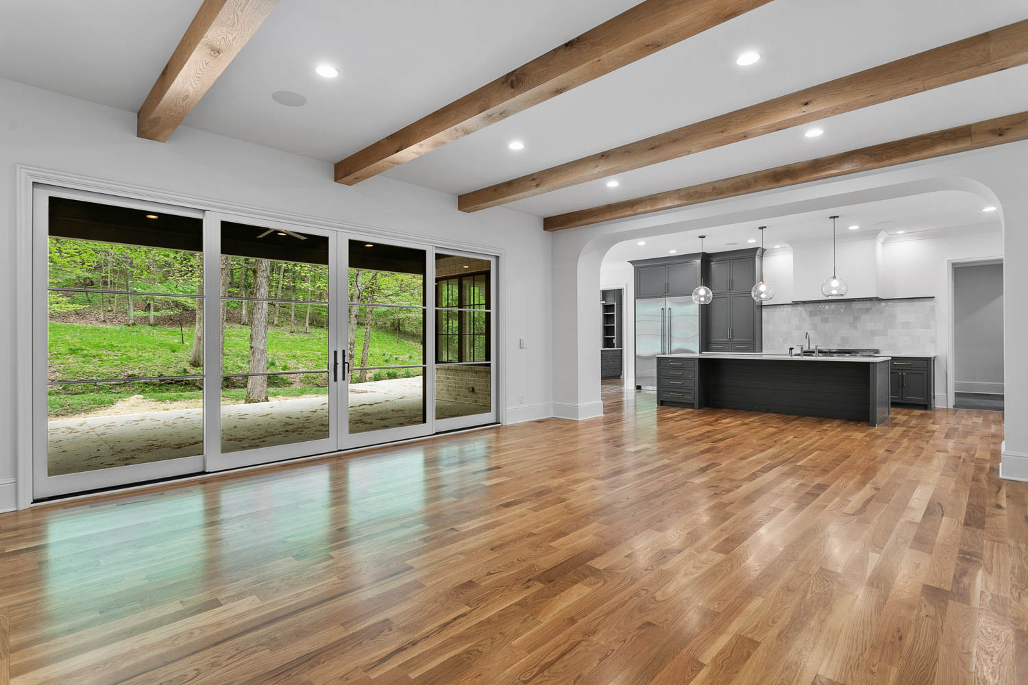 home renovation that includes a living room addition by donnelly timmons in nashville tn