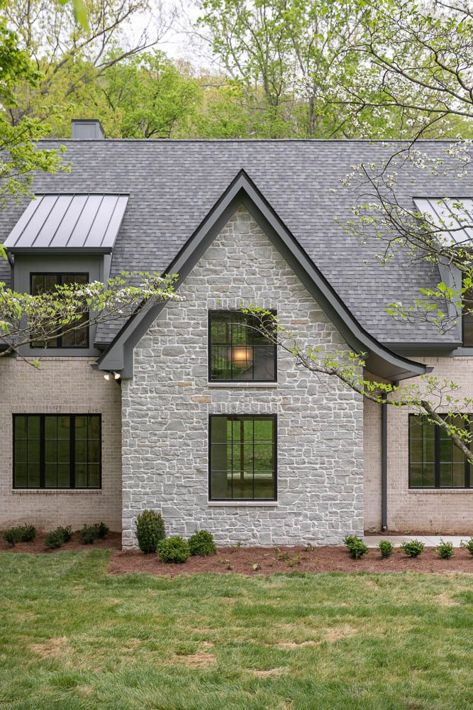 two story custom built home that was rennovated by donnelly timmons near franklin tn