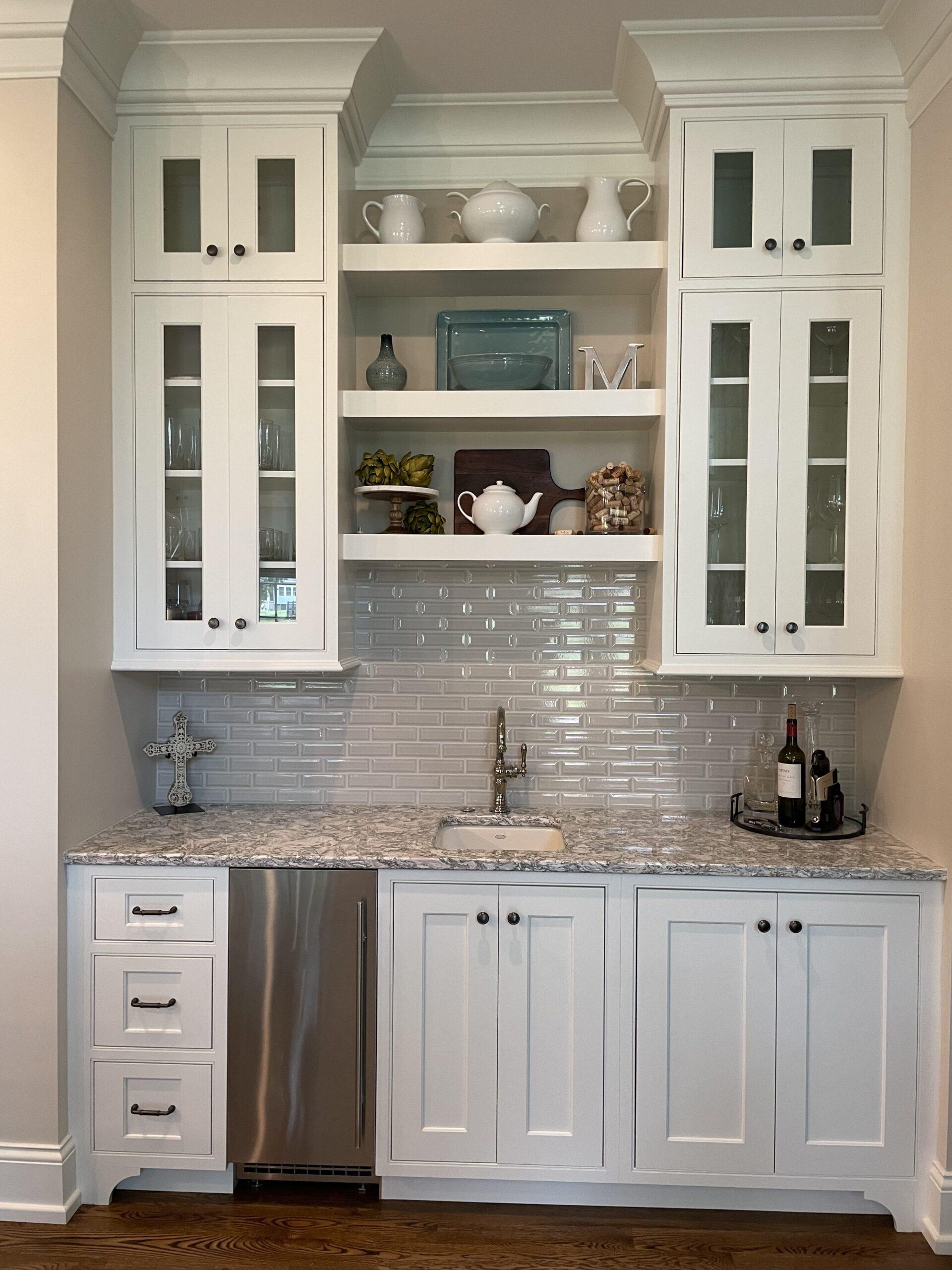 Beautiful modern kitchen home improvement arrangement from a Brentwood Home Builder